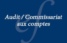 Audit / Commissariat aux comptes